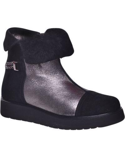 Ботинки на каблуке осенние на каблуке Marzetti
