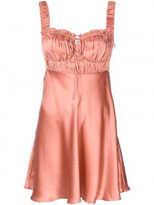 Шелковое платье - розовое Nicholas