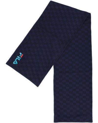 Niebieski szalik Fila