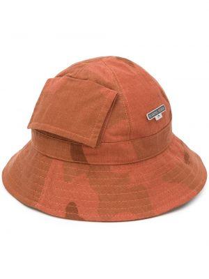 Хлопковая панама - коричневая Marine Serre