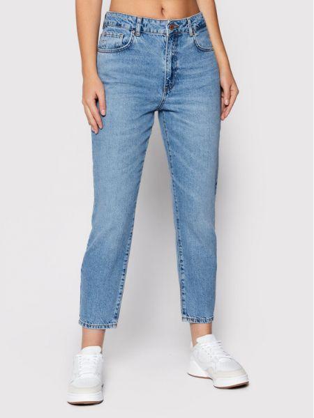 Niebieskie mom jeans Noisy May