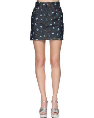 Джинсовая юбка мини - синяя Marc Jacobs