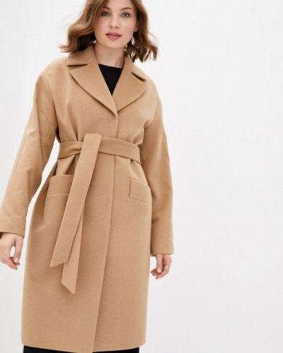 Бежевое пальто Florens