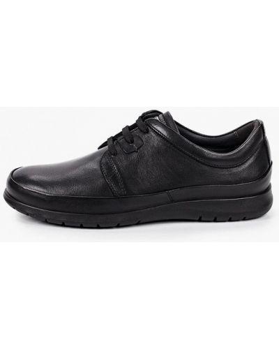 Черные кожаные туфли Salamander