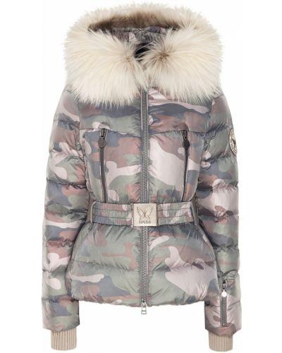 Куртка с капюшоном - серая Naumi