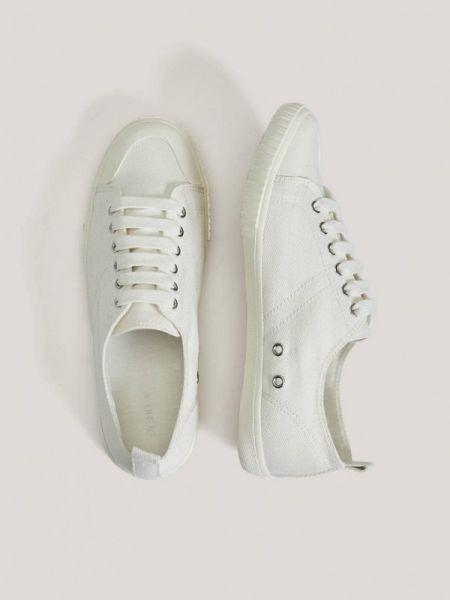 Кроссовки из искусственной кожи белый Oysho