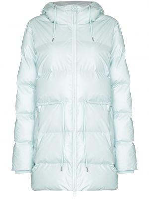Стеганая куртка - синяя Rains
