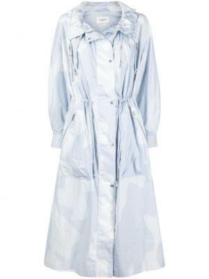 Синяя водонепроницаемая куртка на молнии Isabel Marant étoile