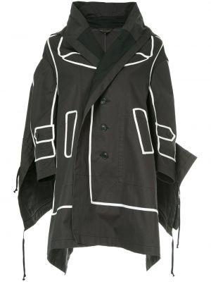 Домашняя ватная черная длинная куртка Comme Des Garçons Pre-owned