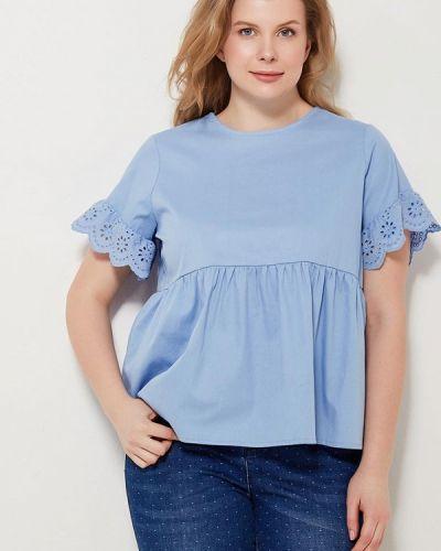 Голубая блузка Lost Ink Plus