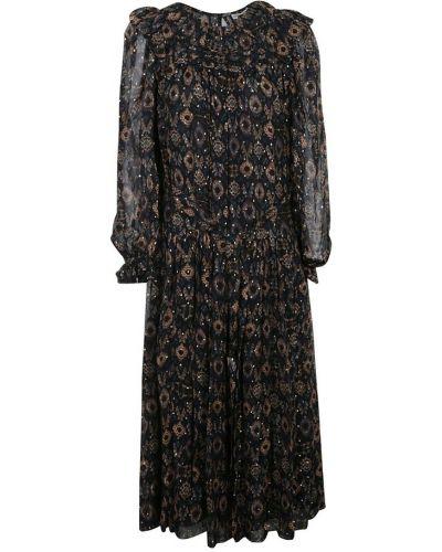 Czarna sukienka Ulla Johnson