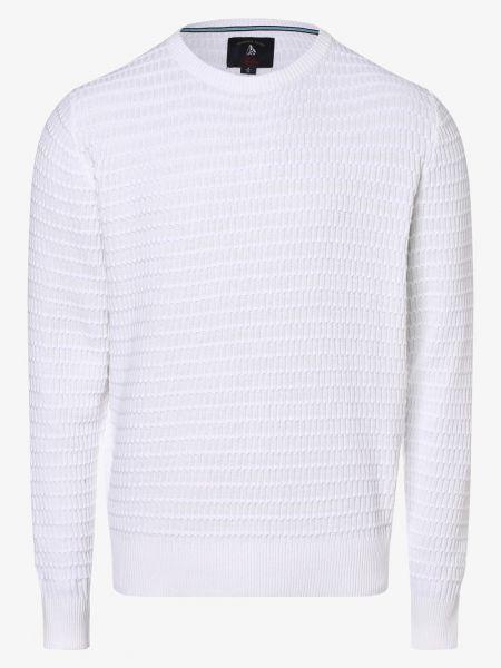 Biały sweter Andrew James Sailing