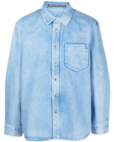 Klasyczna koszula - niebieska Alexander Wang