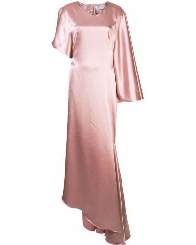 Платье розовое на молнии Osman