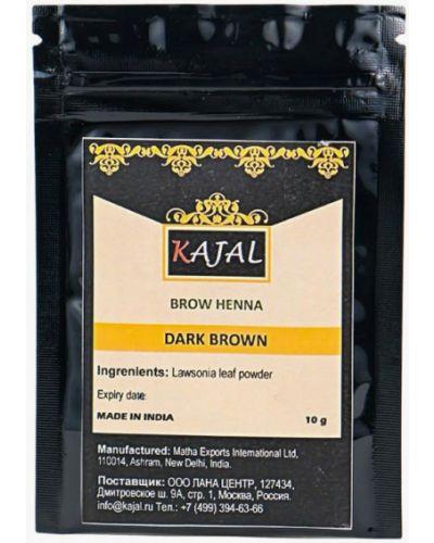 Тени для бровей коричневый Kajal