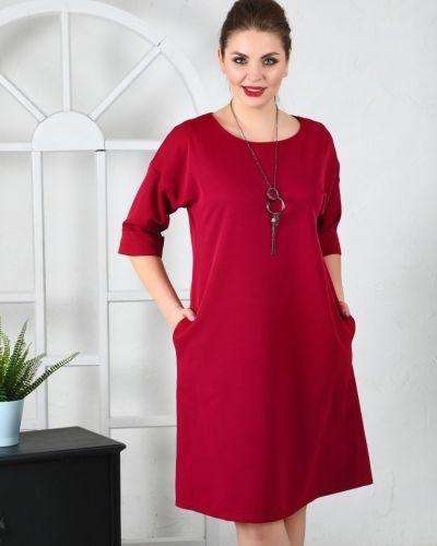 Деловое платье платье-сарафан из вискозы Ellcora