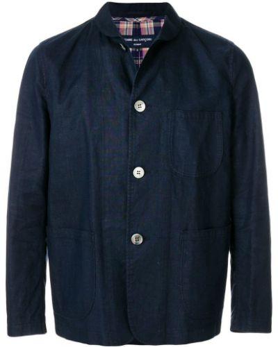Куртка винтажная льняная Comme Des Garçons Vintage