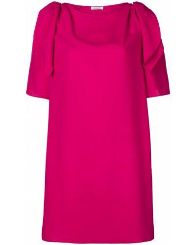 Платье мини прямое с драпировкой P.a.r.o.s.h.