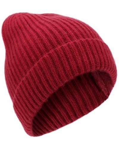 Малиновая шапка кашемировая Tsum Collection