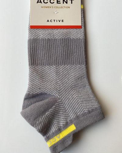 Носки из полиамида - серые Accent
