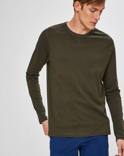 Зеленая футболка однотонная Brave Soul