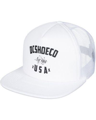 Белая кепка Dc Shoes