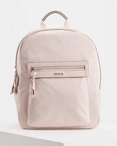 Розовый рюкзак Tous