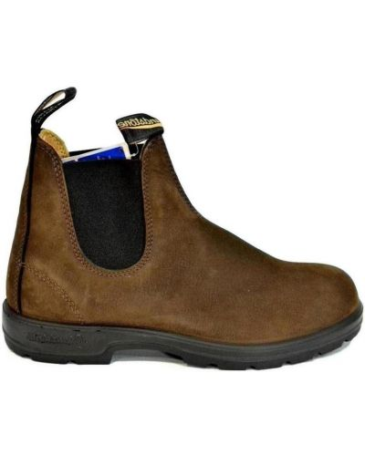 Brązowe ankle boots Blundstone