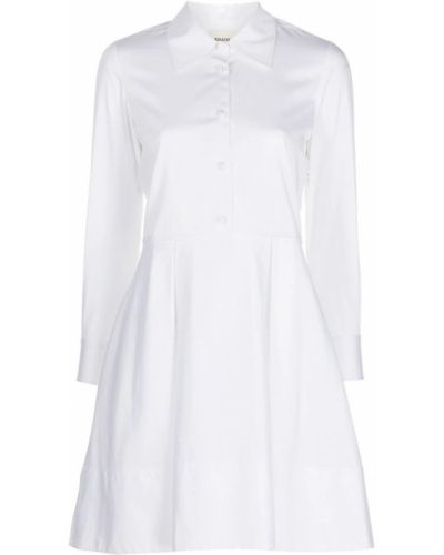 Biała sukienka Khaite