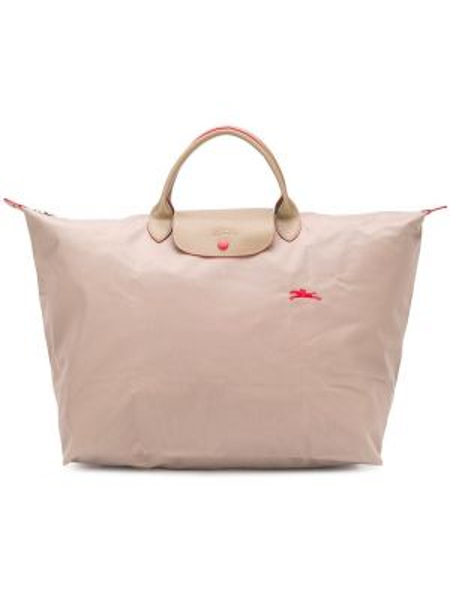 Skórzana torebka na ramię duży Longchamp