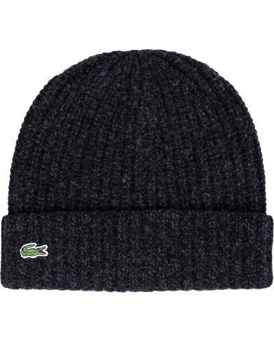 Вязаная шапка - серая Lacoste