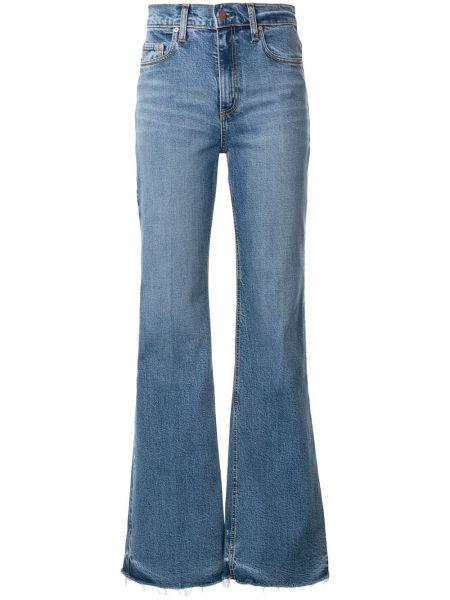 Расклешенные джинсы mom на пуговицах Nobody Denim