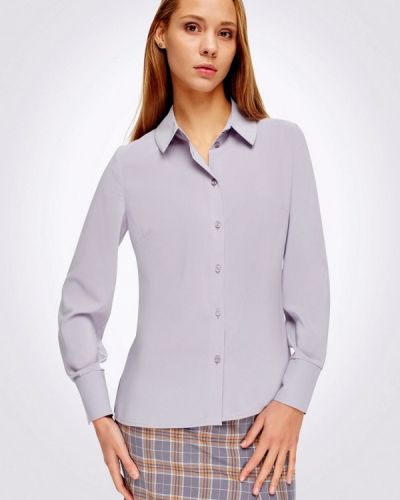 Серая блузка с длинным рукавом Cat Orange