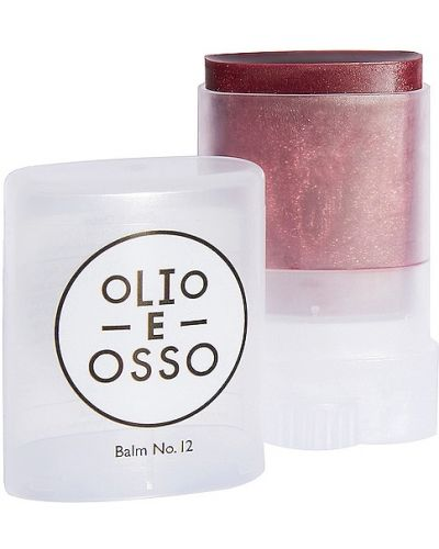 Ciepły skórzany złoty zielony balsam do ust Olio E Osso