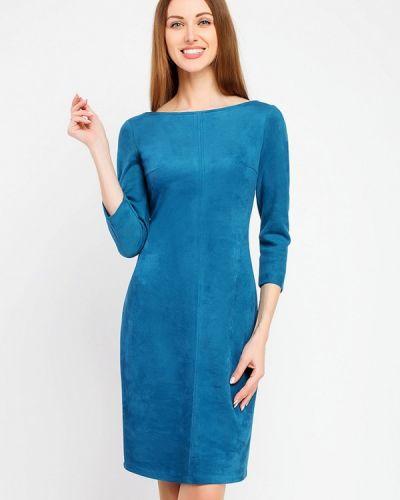 Повседневное платье синее Giulia Rossi