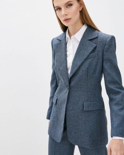 Синий итальянский пиджак Trussardi