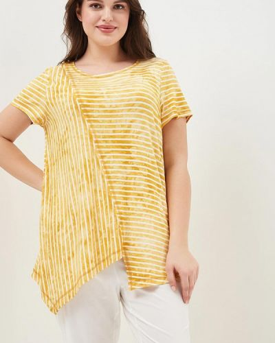 Желтая футболка Lina