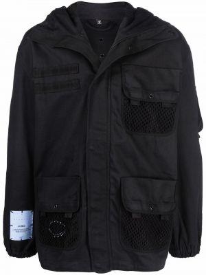 Czarna klasyczna kurtka Mcq