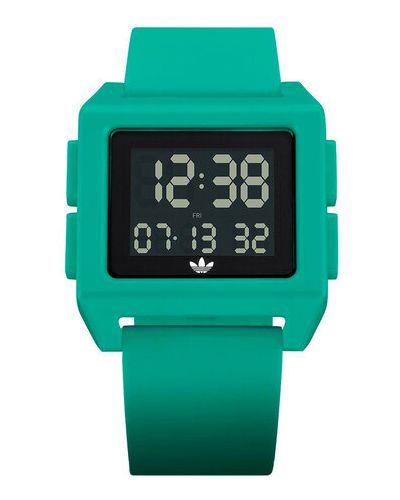 Zielony zegarek Adidas