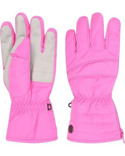 Розовые перчатки Poivre Blanc
