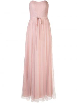 Платье длинное с рукавами Marchesa Notte