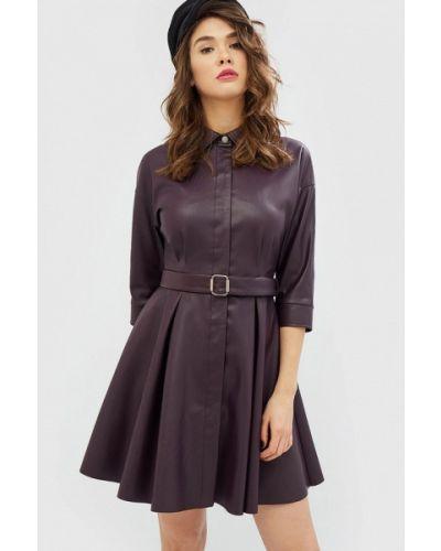 Фиолетовое платье осеннее Cardo