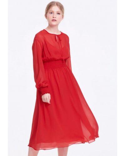 Красное платье весеннее Musthave