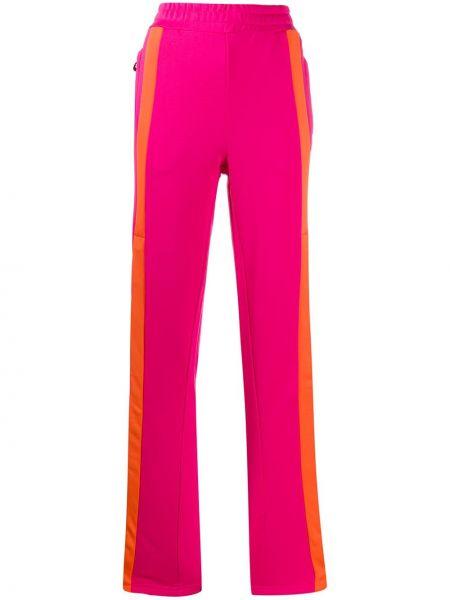 Спортивные брюки расклешенные с карманами Fila