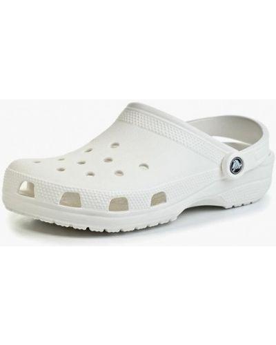 Сандалии белые Crocs