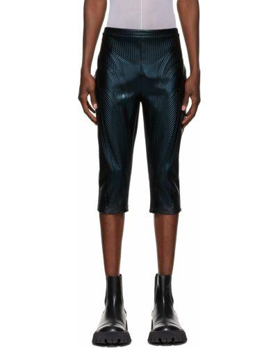 Czarne spodnie Mugler