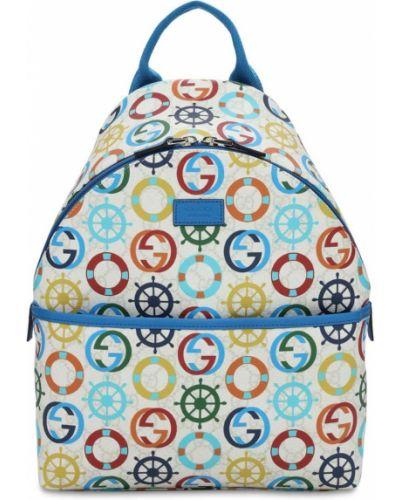 Рюкзак с карманами на молнии на бретелях Gucci