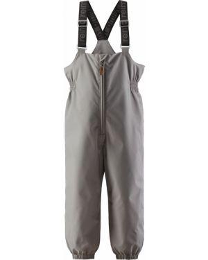 Серые силиконовые брюки с подкладкой с декоративной отделкой Reima