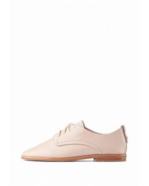 Кожаные ботинки - бежевые Stefano Lompas