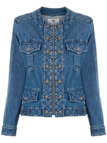 Синяя джинсовая куртка на пуговицах Andrea Bogosian